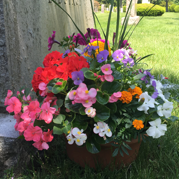 Newton Cemetery Memorial Day Pan