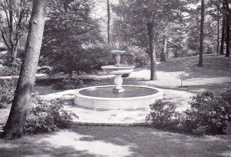 Newton Cemetery Murdock Fountain