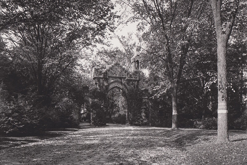 Newton Cemetery Gate