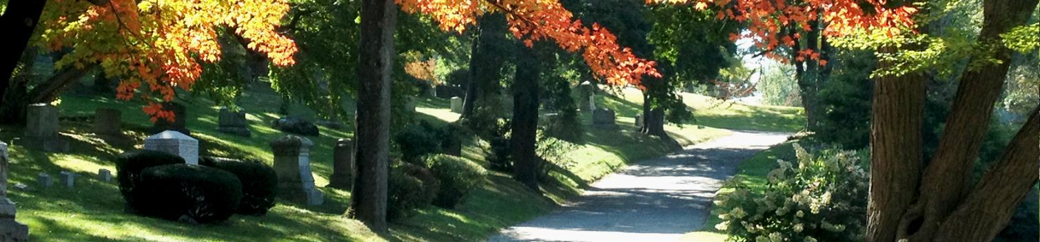 Newton Cemetery Plan