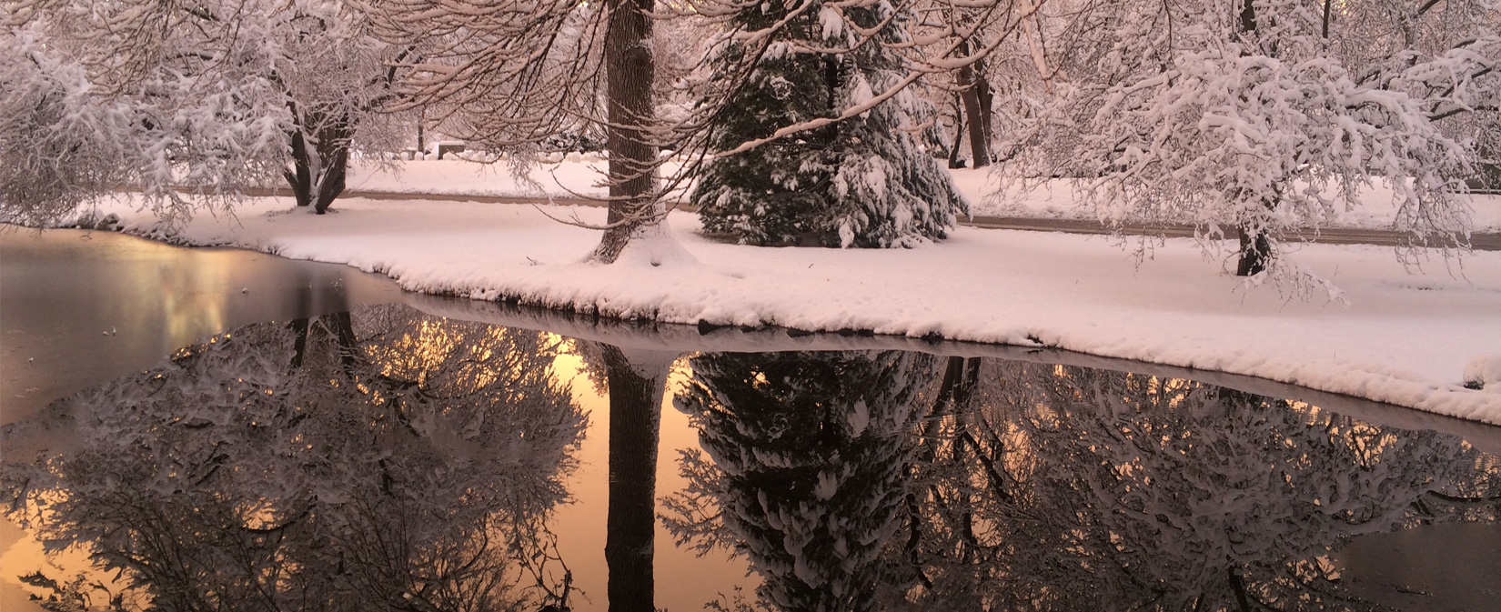 Winter-Sunset-Reflection-1st-Pond