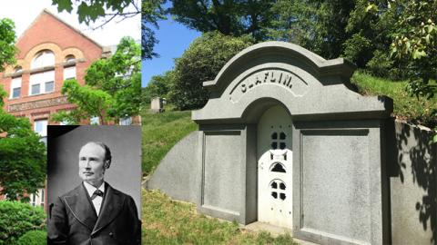 Governor William Claflin-Claflin School-Claflin Tomb