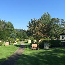 Newton Cemetery double grave